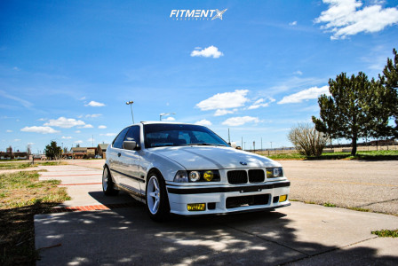1995 BMW 318ti - 16x8 13mm - Mille Miglia Mm11 - Lowering Springs - 215/50R16