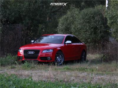 2012 Audi S4 - 19x8.5 35mm - Rotiform Rse - Stock Suspension - 235/45R19