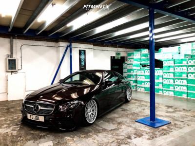 2019 Mercedes-Benz E300 - 20x10 35mm - Rotiform Rse - Air Suspension - 245/35R20