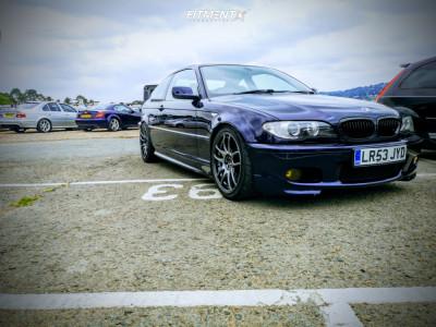 2003 BMW 330Ci - 18x8.5 35mm - Japan Racing Jr29 - Coilovers - 225/40R18