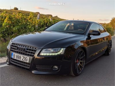 2011 Audi A5 - 19x9.5 22mm - Japan Racing Jr11 - Coilovers - 235/35R19