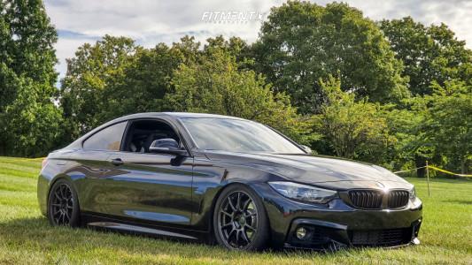 2018 BMW 440i - 18x8.5 30mm - Volk Ze40 - Coilovers - 245/40R18