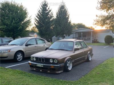 1987 BMW 325 - 16x8.5 30mm - Artec Stahl S2 - Air Suspension - 205/40R16