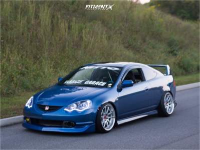 2002 Acura RSX - 18x9.5 22mm - Aodhan DS02 - Coilovers - 215/40R18