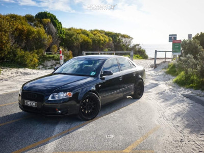 2005 Audi A4 - 19x8.5 20mm - Work Meister - Coilovers - 225/35R19