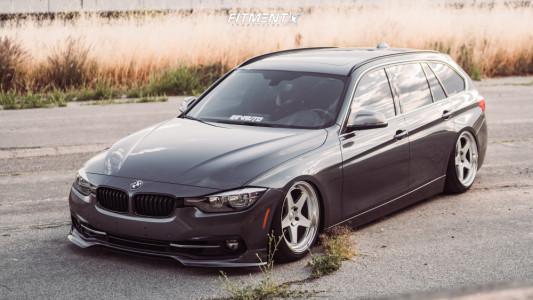 2017 BMW 330i xDrive - 18x9 12mm - Kansei Knp - Air Suspension - 215/40R18