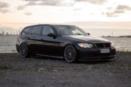 2008 BMW 3 Series - 19x8.5 35mm - Moda  - Coilovers - 215/35R19