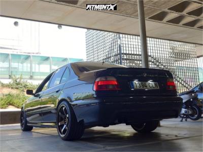 2002 BMW 530i - 18x9 15mm - Japan Racing Jr3 - Stock Suspension - 245/35R18