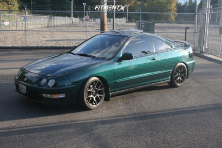2000 Acura Integra - 17x8 35mm - Konig Ampliform - Coilovers - 215/40R17