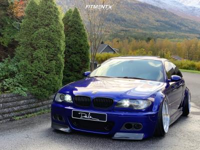 2001 BMW 330Ci - 18x12.5 -20mm - RH Rh Xd - Air Suspension - 235/35R18