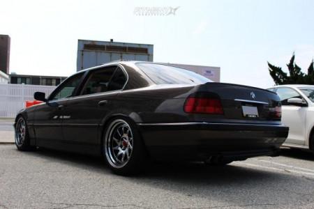 1997 BMW 740iL - 19x9.5 22mm - ESR Sr09 - Coilovers - 245/45R19