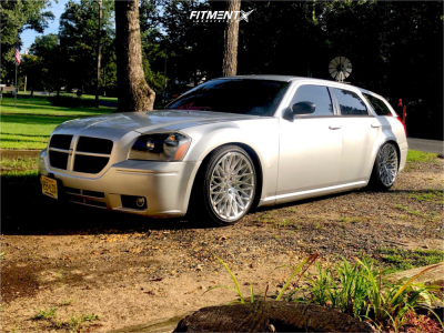 2007 Dodge Magnum - 20x10 25mm - Rosso Skism - Coilovers - 255/35R20