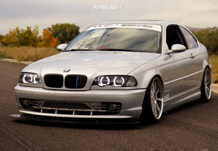 2002 BMW 330Ci - 18x8.5 20mm - TSW Circuit - Coilovers - 215/35R18