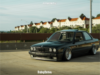 1991 BMW 318is - 16x8 35mm - BBS Rs - Air Suspension - 165/40R16