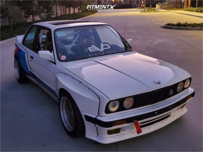 1991 BMW 318is - 16x8 -20mm - Evo61 Ls7 - Coilovers - 225/40R16