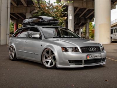 2003 Audi A4 Quattro - 19x8.5 35mm - 3SDM 0.06 - Coilovers - 225/35R19
