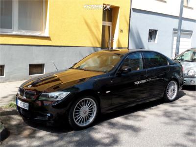2009 BMW 3 Series - 18x8 40mm - Alpina Classic - Stock Suspension - 225/40R18