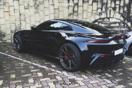 2019 Aston Martin Vantage - 21x9.5 27mm - ANGLE A1-S180 - Stock Suspension - 265/35R21