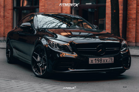 2018 Mercedes-Benz C43 AMG - 20x8.5 35mm - ANGLE A1-S45 - Air Suspension - 235/35R20