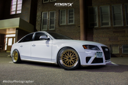 2012 Audi S4 - 19x9.5 35mm - JNC JNC005 - Lowering Springs - 255/35R19