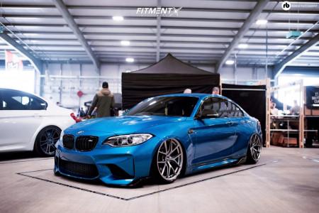 2016 BMW M2 - 19x9.5 38mm - BBS Ci-r - Air Suspension - 245/35R19