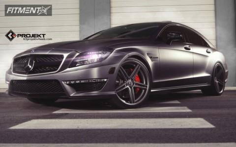 2013 Mercedes-Benz CL550 - 20x9 32mm - K3 Projekt Projekt 1 - Lowered on Springs - 255/30R20