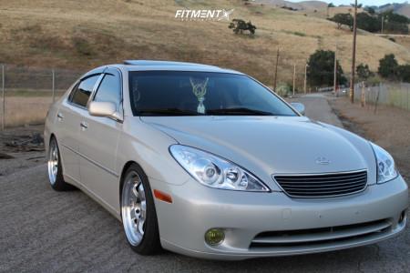 2005 Lexus ES330 - 18x8.5 30mm - ESR Sr06 - Coilovers - 225/40R18