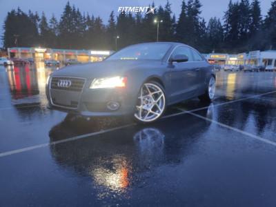 2011 Audi A5 Quattro - 20x9 25mm - 3SDM 0.08 - Stock Suspension - 235/35R20