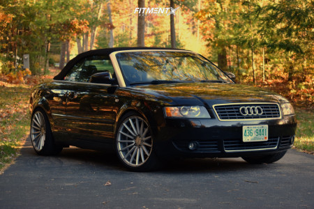 2006 Audi A4 - 19x9.5 34mm - Alzor 084 - Coilovers - 295/30R19