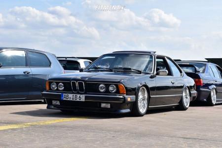 1985 BMW 635CSi - 17x8 20mm - BBS Rc - Air Suspension - 205/50R17