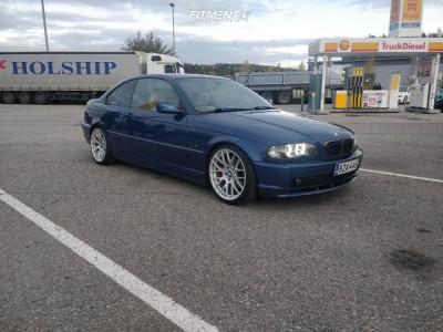 2001 BMW 325Ci - 18x8.5 35mm - Avant Garde M359 - Coilovers - 215/40R18