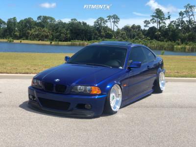 2001 BMW 325Ci - 18x9.5 0mm - BBS Rs - Air Suspension - 215/35R18