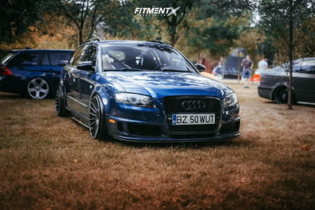 2007 Audi A4 - 19x10 35mm - Rotiform Ind - Coilovers - 225/35R19