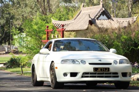 1991 Toyota Soarer - 18x9 30mm - Work Gt5 - Lowering Springs - 235/40R18
