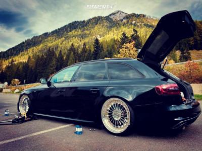 2013 Audi A4 Quattro - 19x9 30mm - Rotiform Ind-t - Air Suspension - 225/35R19