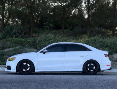 2016 Audi S3 - 19x8.5 35mm - Rotiform Kps - Coilovers - 235/35R19