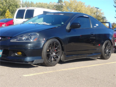 2006 Acura RSX - 17x8 35mm - Vors Tr4 - Coilovers - 215/45R17