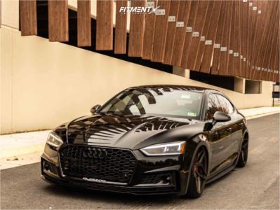 2018 Audi S5 Sportback - 21x10 30mm - Brixton Forged Pf5 - Air Suspension - 265/30R21