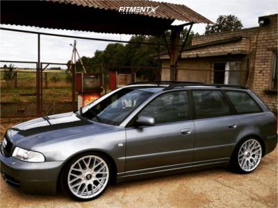 1999 Audi A4 Quattro - 19x8.5 35mm - Rotiform Rse - Air Suspension - 205/70R19