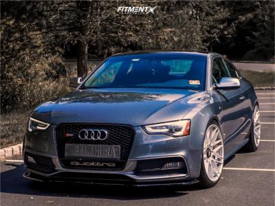 2013 Audi S5 - 20x10 25mm - Rotiform Rse - Lowering Springs - 275/30R20