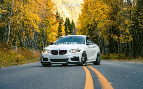 2015 BMW M235i xDrive - 19x8.5 33mm - Rohana Rc10 - Lowering Springs - 215/35R19