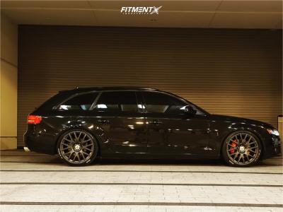 2011 Audi A4 Quattro - 20x8.5 35mm - TSW Mugello - Coilovers - 245/35R20