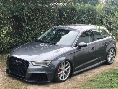 2016 Audi A3 - 19x8.5 40mm - Z Performance Zp09 - Lifted - 225/35R19
