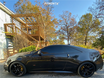 2012 Cadillac CTS-V - 20x9 35mm - Niche Gamma - Lowering Springs - 255/35R20