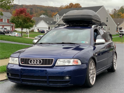 2001 Audi S4 - 18x8.5 40mm - BBS Rsii - Coilovers - 225/35R18