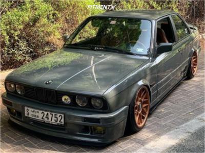 1990 BMW 325i - 17x8 20mm - BBS Rc - Air Suspension - 195/40R17