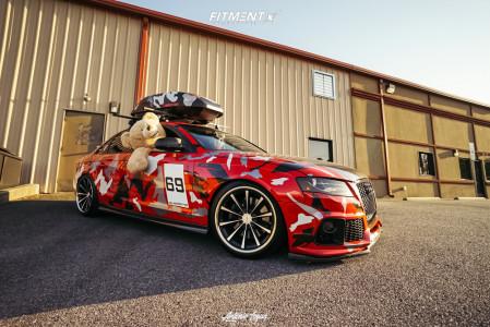 2011 Audi S4 - 19x10 36mm - Vossen Cv1 - Lowering Springs - 255/35R19