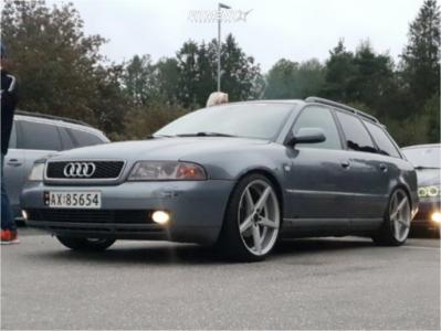 1999 Audi A4 Quattro - 19x8.5 35mm - Zito Corsica - Coilovers - 225/35R19