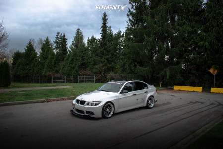 2006 BMW 330i - 19x9.5 20mm - SSR Ms1 - Coilovers - 235/35R19