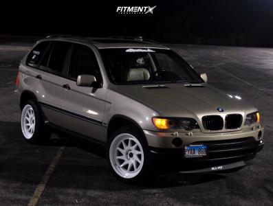 2001 BMW X5 - 20x11 25mm - Zedd Slt - Stock Suspension - 255/45R20
